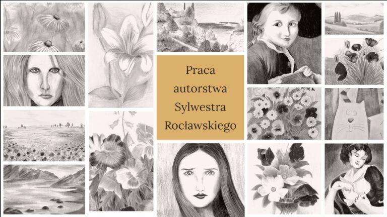 Galeria prac Sylwestra Rocławskiego